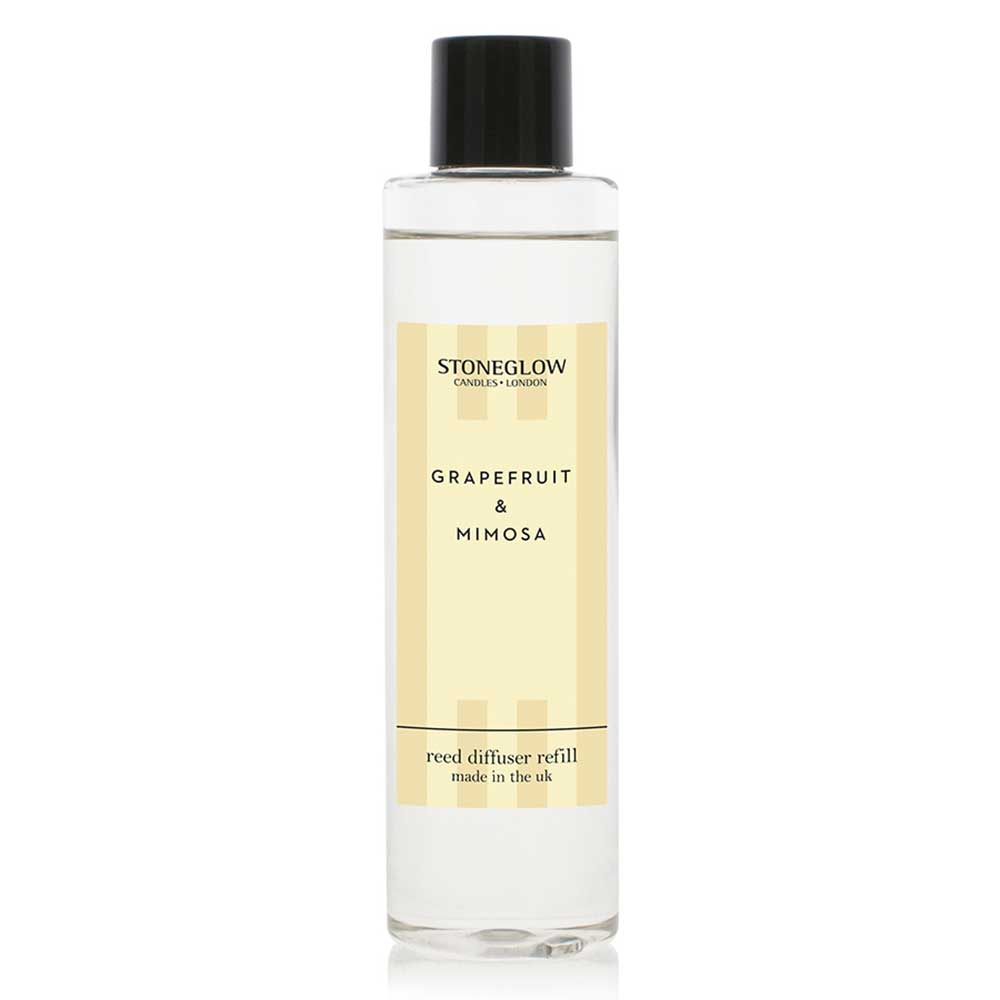 Stoneglow Grapefruit & Mimosa Reed Diffuser Refill