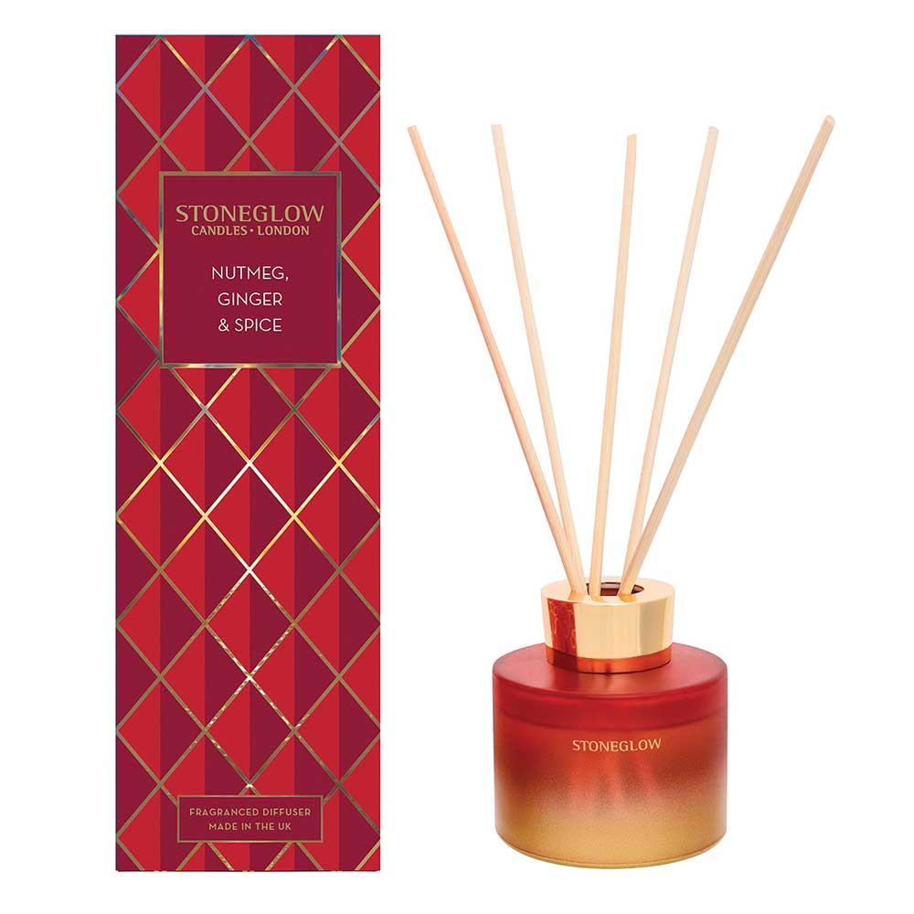 Stoneglow Nutmeg, Ginger & Spice Reed Diffuser