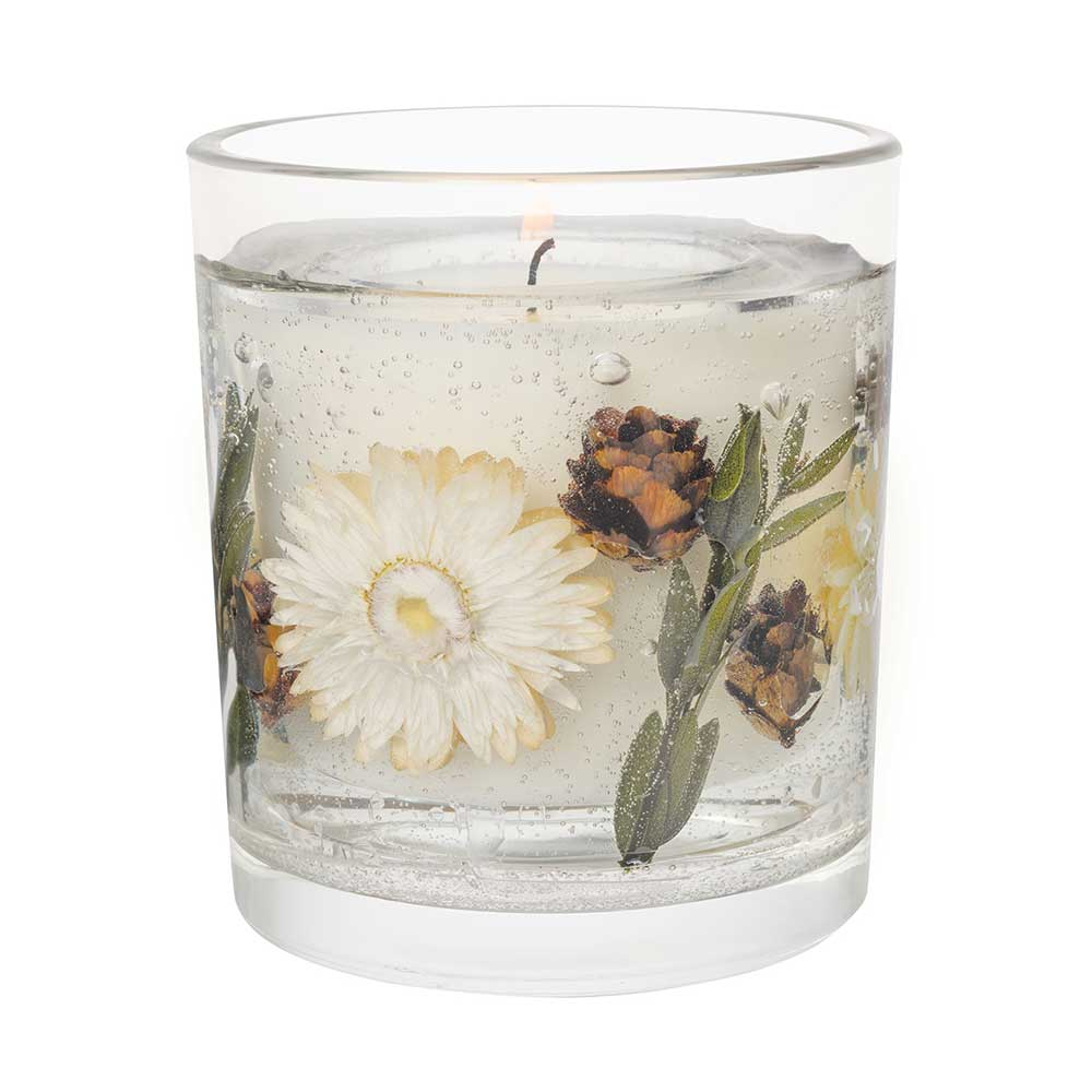 Stoneglow Amber Woods & Blossom Natural Wax Gel Candle