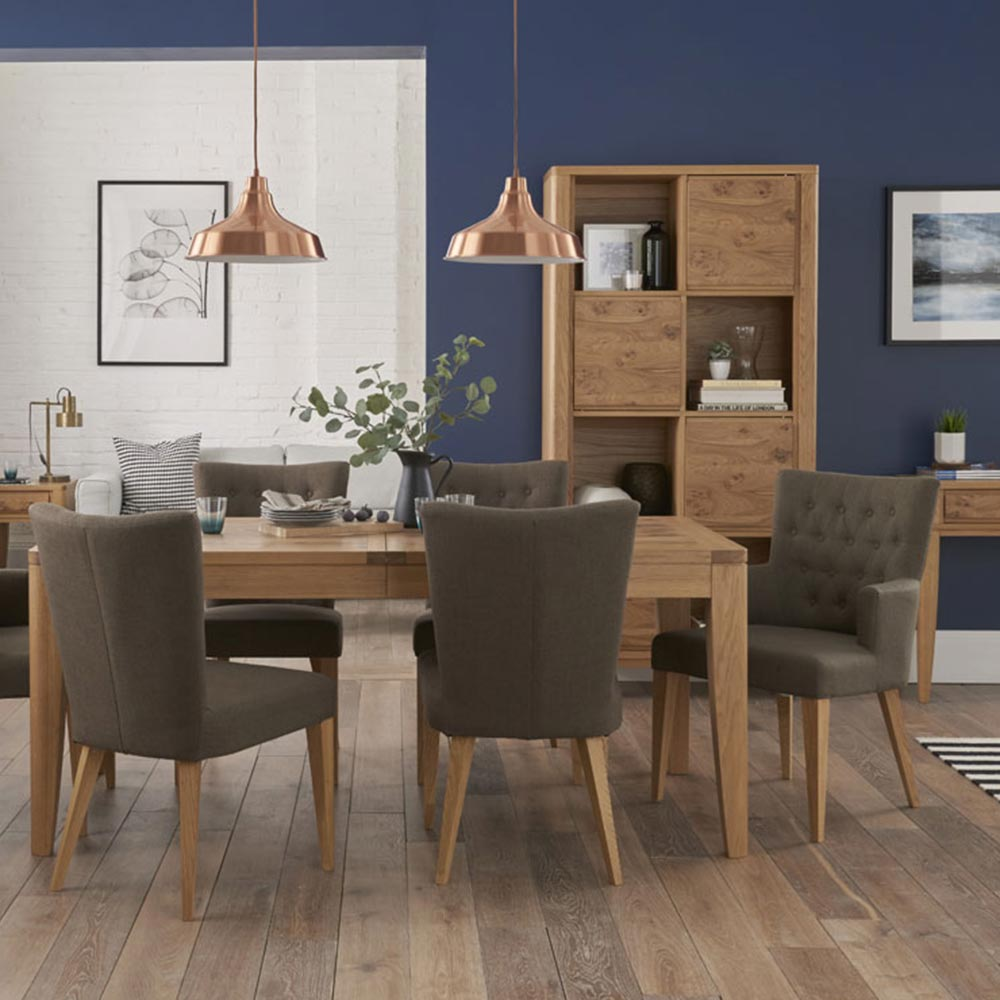 Hillingdon Upholstered Dining Chairs (Pair)