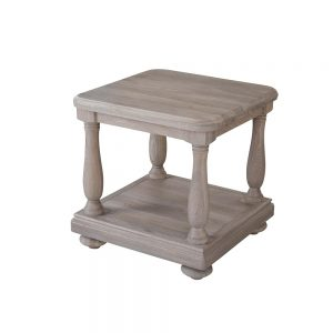Wellington Side Table With Shelf