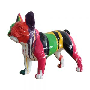 Standing French Bulldog Sculpture
