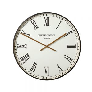 Thomas Kent Clocksmith Clock Black 76cm