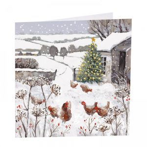 All Is Bright Christmas Cards - Pack of 8