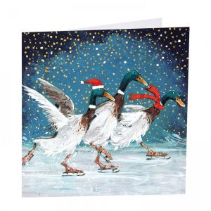 Christmas Quackers Christmas Cards - Pack of 8