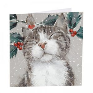 Nipping At Your Nose Christmas Cards - Pack of 8