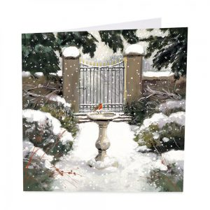 Winter Garden Christmas Cards - Pack of 8