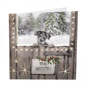 The Grotto Christmas Cards - Pack of 8