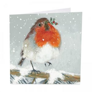 Little Red Robin Christmas Cards - Pack of 8