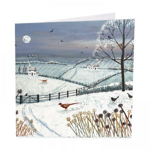 Winter's Eve Christmas Cards - Pack of 8