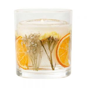 Stoneglow Neroli Blossom & Citron Natural Wax Gel Candle