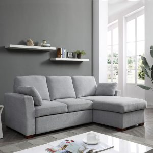 Sorrento Sofa Bed with Storage  Grey