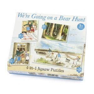 Bear Hunt 4 In 1 Puzzle
