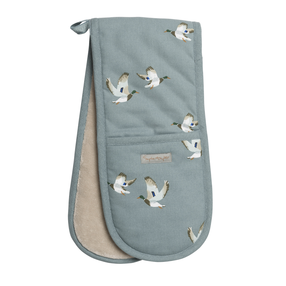 Sophie Allport Ducks Double Oven Glove