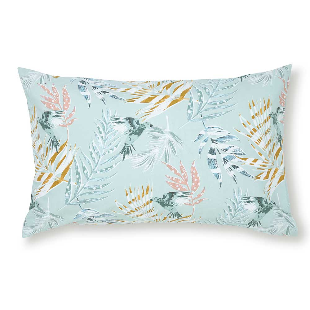 FatFace Paradise Parrot Pillowcase Pair