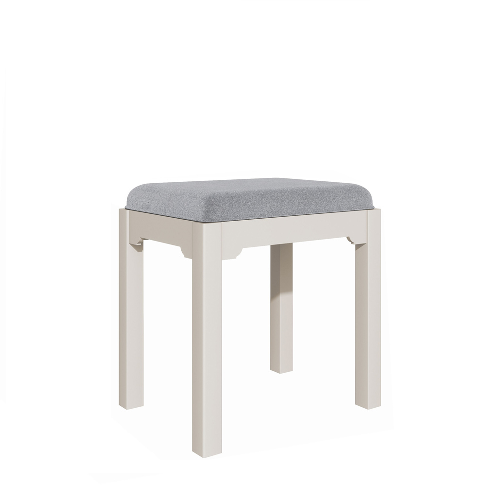 Bromley Dressing Table Stool Grey