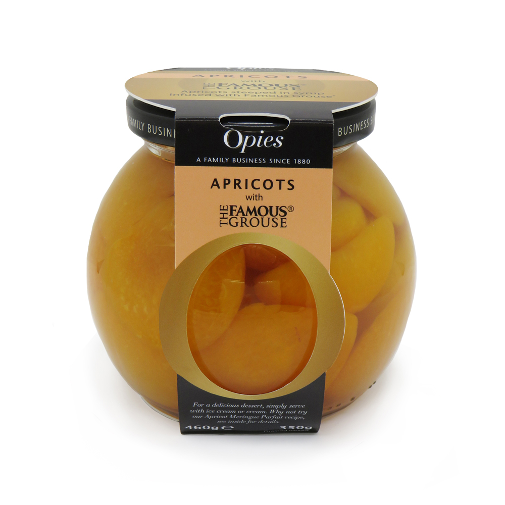 Opies Apricots With Famous Grouse