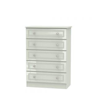 Boston 5 Drawer Chest Kashmir Gloss