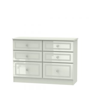Boston 6 Drawer Midi Chest Kashmir Gloss