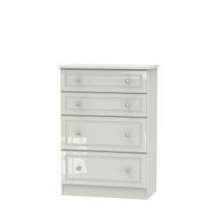 Boston 4 Drawer Deep Chest Kashmir Gloss