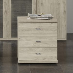 Denby 3 Drawer Bedside Chest
