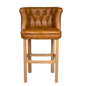 Parker Barstool Brown Cerato (fast Track Delivery)
