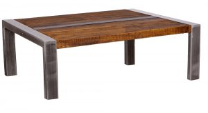 Industrial Coffee Table 90 X 90 X 42