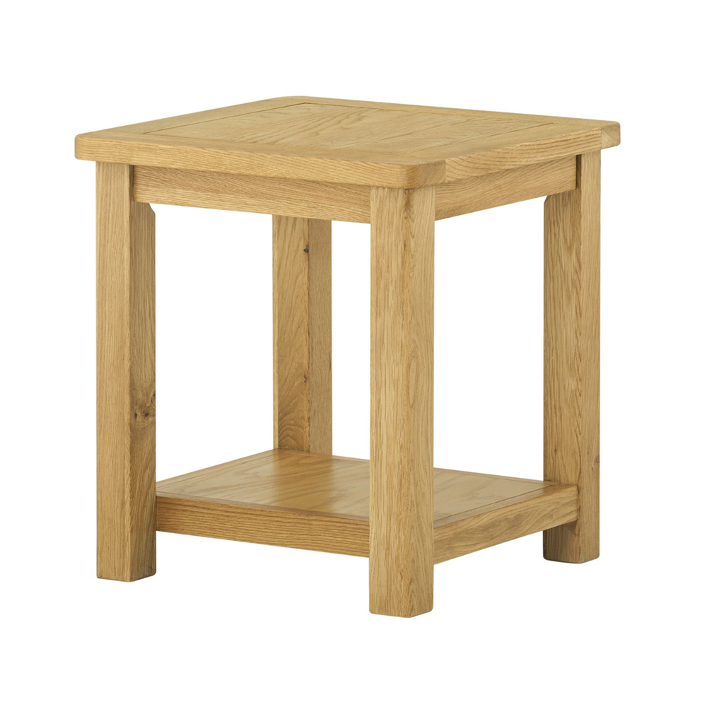 Pemberley Lamp Table Oak