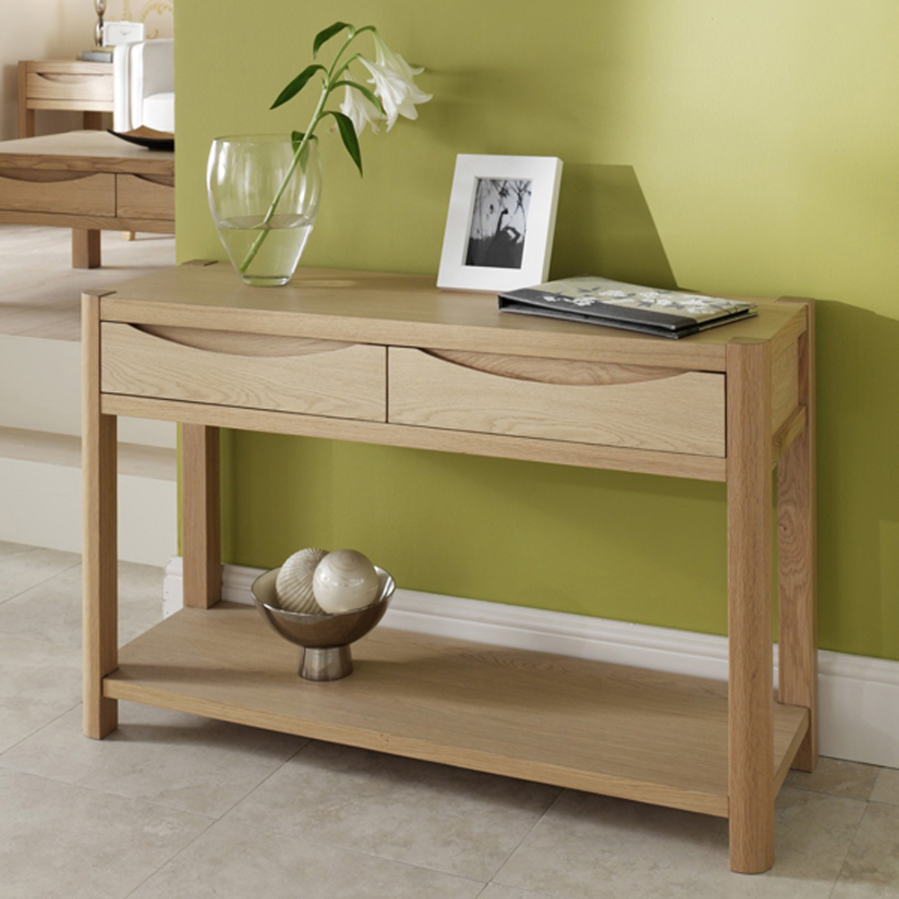 Dovedale Hall Table With 2 Drawers