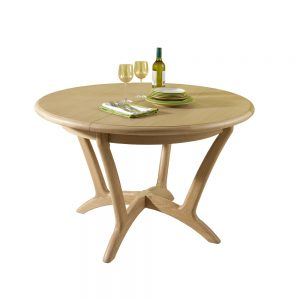 Dovedale Round 120cm Extending Dining Table