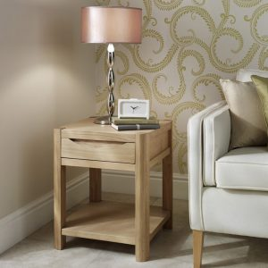 Dovedale Compact Lamp Table