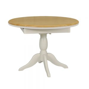 Stag Crompton Round Extending Table