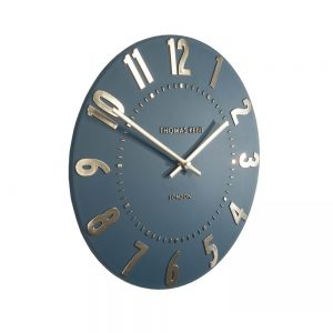 Thomas Kent Mulberry Wall Clock Midnight Blue 12""