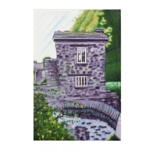 "Bridge House 1 Ceramic Tile 8"" x 12"""