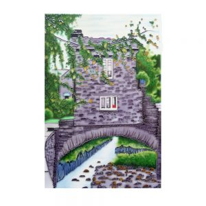 "Bridge House 2 Ceramic Tile 8"" x 12"""