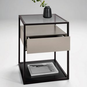 Tribeca Lamp Table with One Drawer