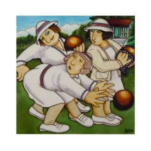 "Bowlers Ceramic Tile 12"" x 12"""
