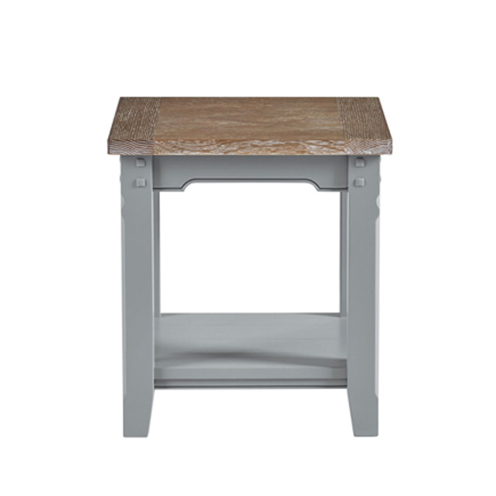 Tiverton Side Table with Shelf