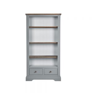 Tiverton Bookcase with 2 Drawers