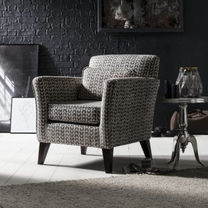 Milton Accent Chair Isla Charcoal