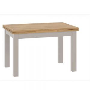 Pemberley Draw Leaf Dining Table Stone