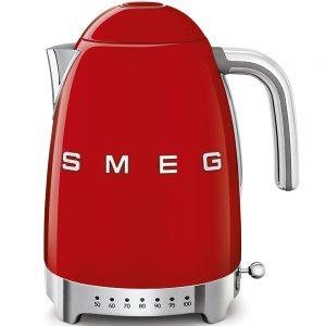 Smeg Variable Temperature Kettle Red