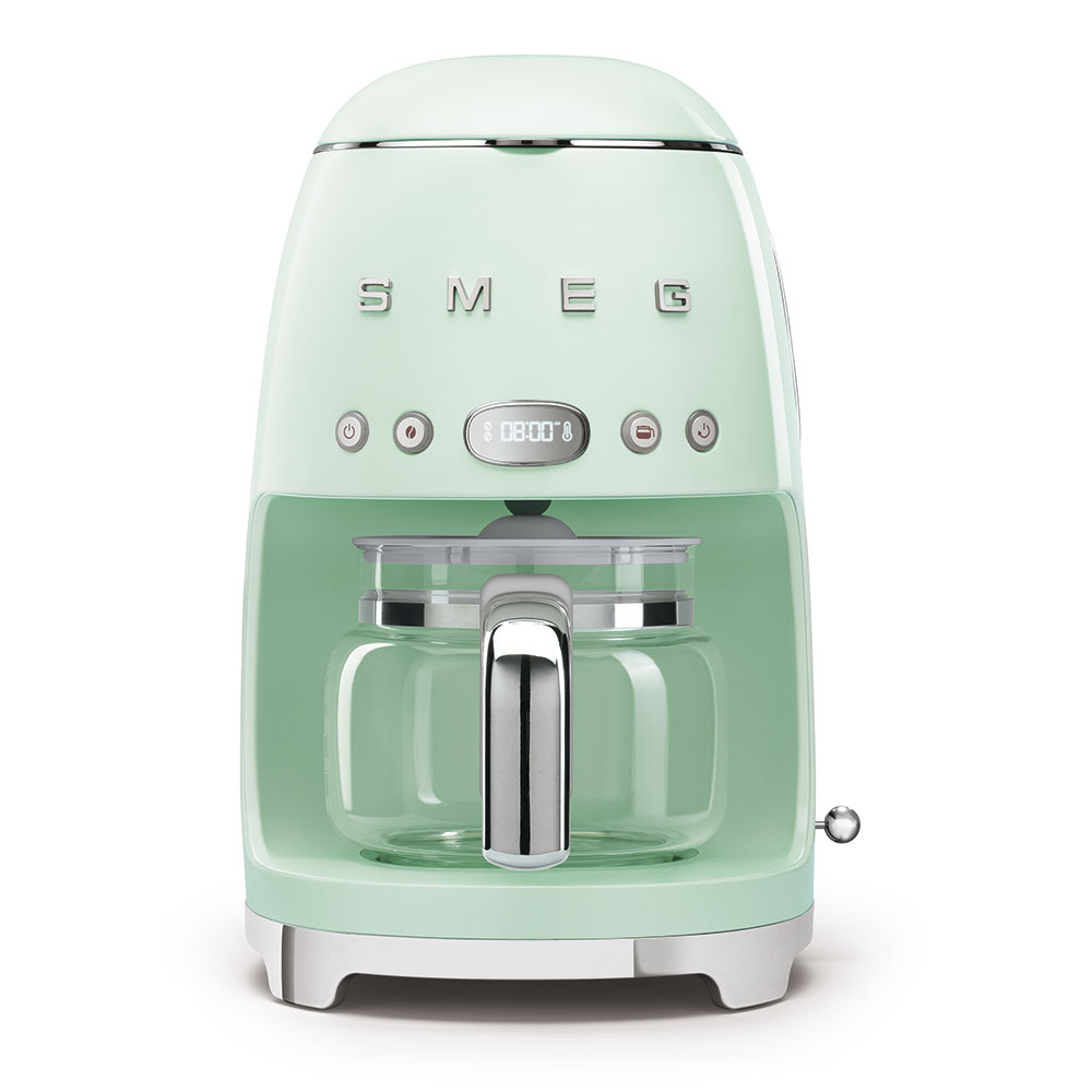 Smeg Drip Filer Coffee Machine Pastel Green