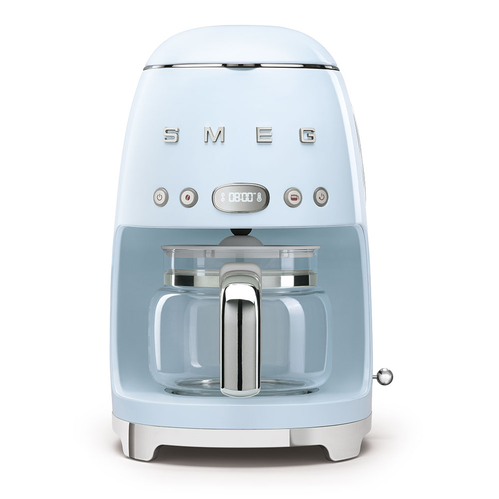 Smeg Drip Filer Coffee Machine Pastel Blue