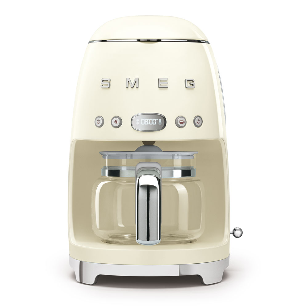 Smeg Drip Filer Coffee Machine Cream