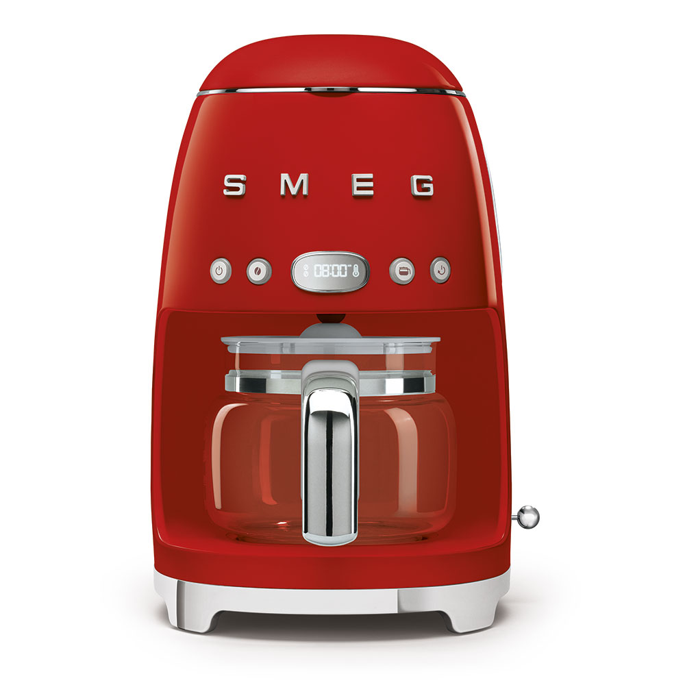 Smeg Drip Filer Coffee Machine Red