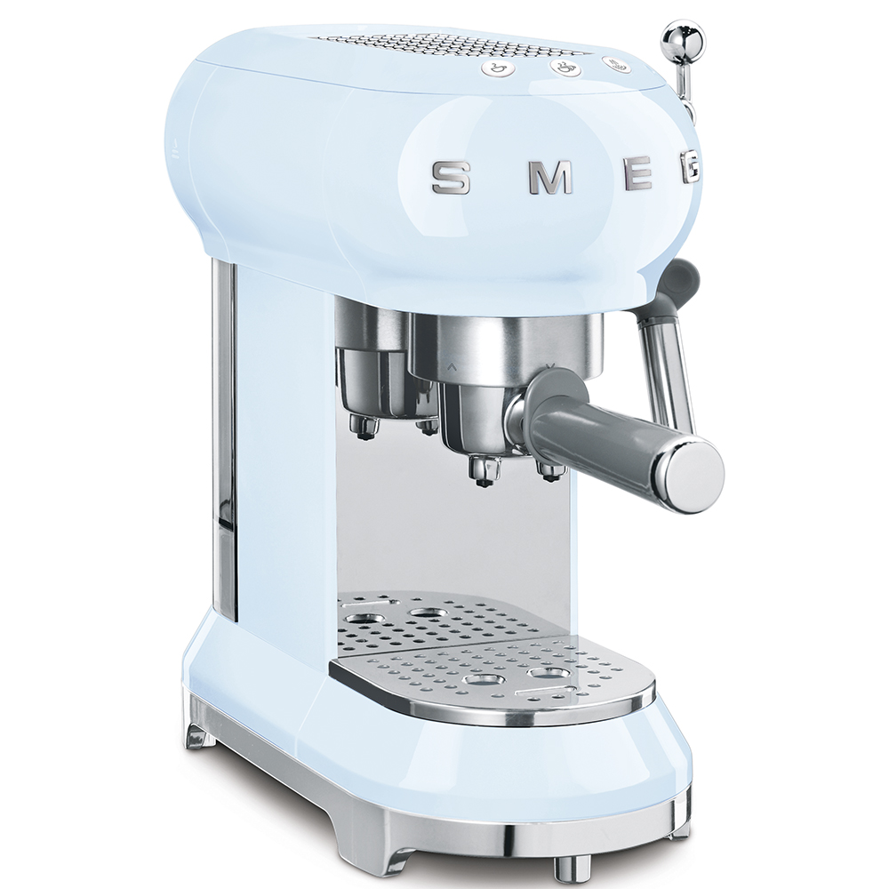 Smeg Espresso Machine Pastel Blue