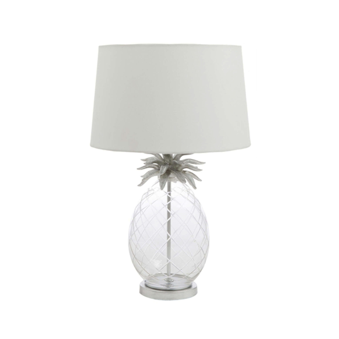 Laura Ashley Pineapple Large Table Lamp Glass With Shade