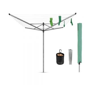 Brabantia Lift-O-Matic Rotary Dryer & Accessories 50M