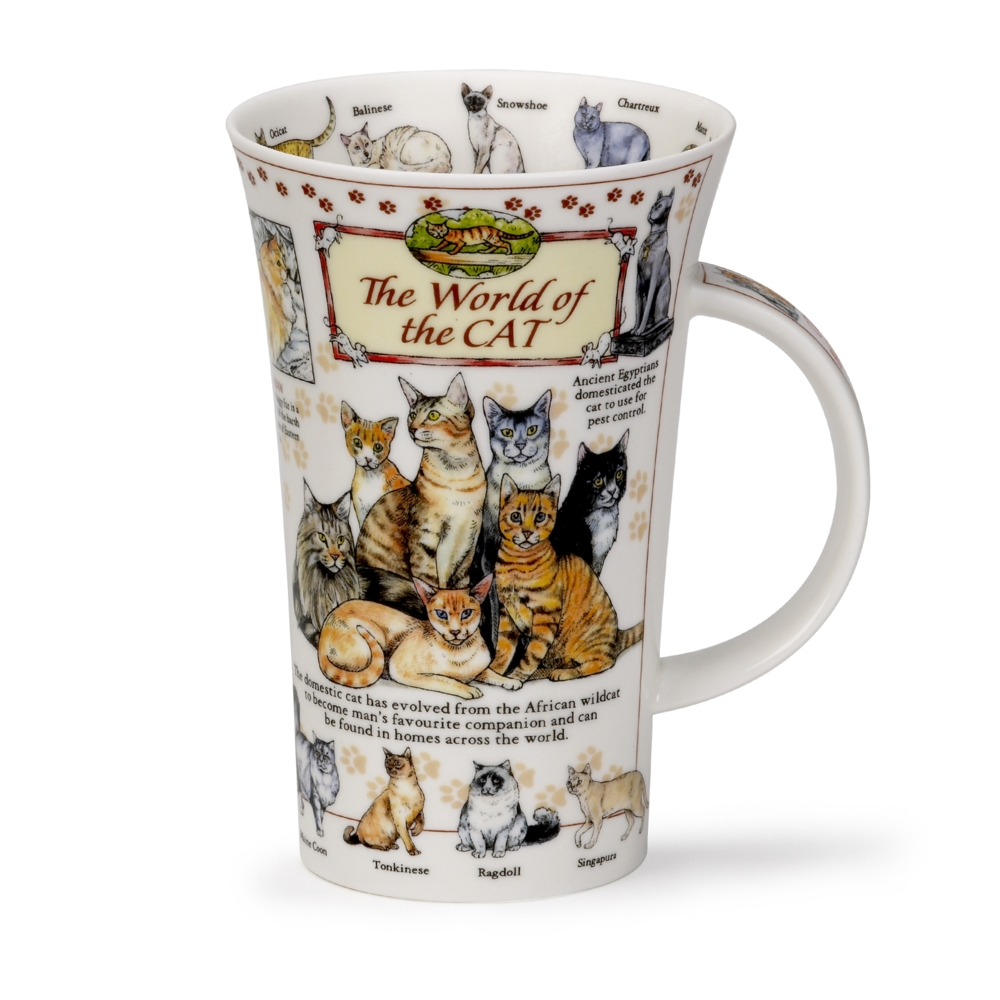 Dunoon Glencoe World of Cats Mug